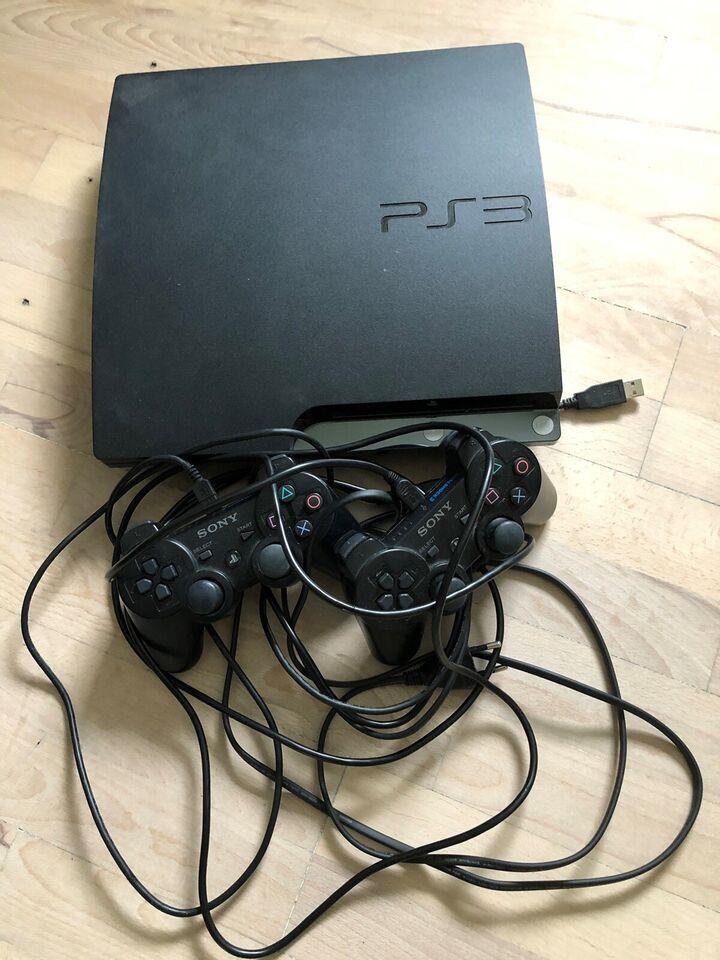 Playstation 3, 500GB Slim, Perfekt