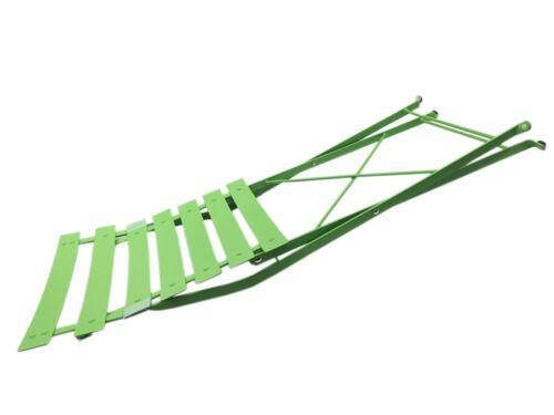 Bistrotisch Bistroset  Metall 3er Set 1 Tisch 2 Stühlen Klappbar Sitzgruppe T1