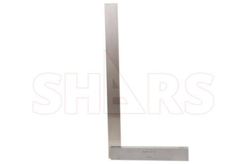"SHARS 24/"" x 12/"" Hardened Precision Steel Squares Straight Edge Square NEW R"