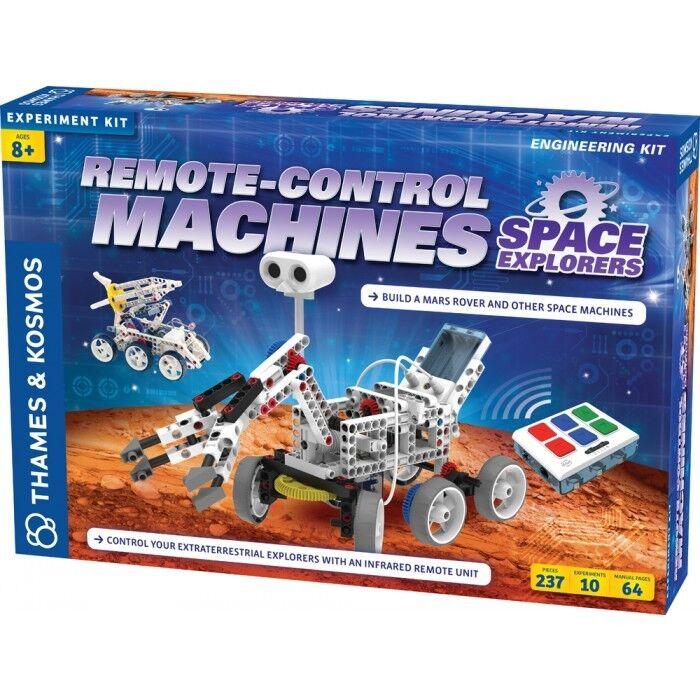 Fjärrstyrning Space Explorers 10 modellllerlerl Engineering Kit Science 620374