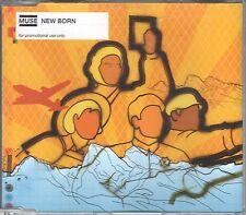 Muse  CD-SINGLE  NEW BORN  ( PROMO )    2  TRACKS  LONG VERSION