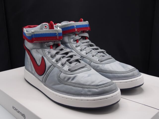 c031660d795 Nike Vandal High Supreme QS Metallic Silver Ah8651 001 Size 12 for ...