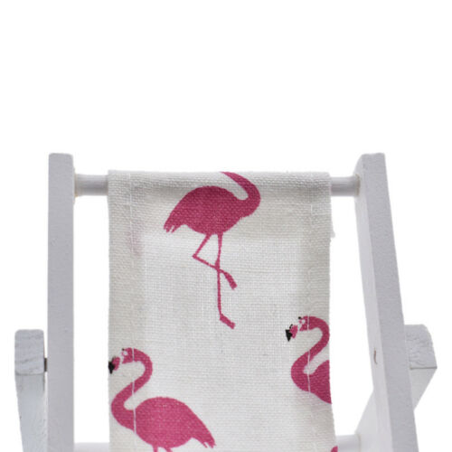 Bambola Di Legno Mini flamingo ANANAS Spiaggia Sedia ARREDAMENTO sostegni Bricolage