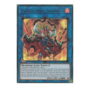 x3 ferocious flame swordsman DUOV-EN032 ultra 1st