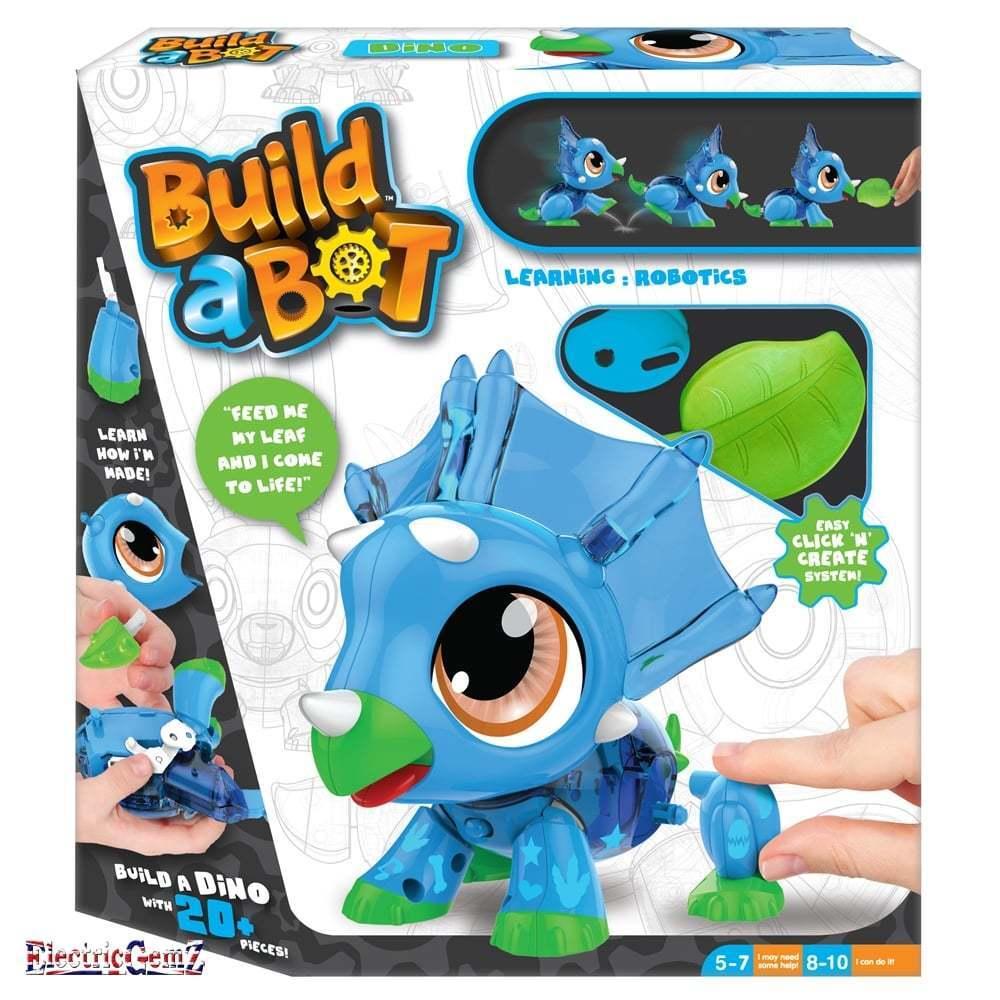 Build a Bot Dino Construction Kit - Build Your Own Pet Robot