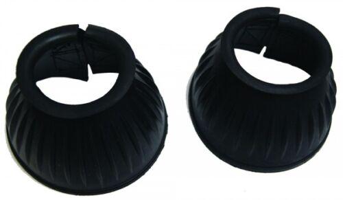 Spring Bell Rubber Black Velcro 1 Pair ARBO-INOX ®