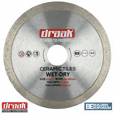 "115mm 4.5"" Ceramic Diamond Tile Saw Angle Grinder Blade DRAAK"