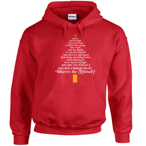 398 Clark Rant Hoodie christmas movie griswolds vacation funny vintage 90s new