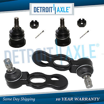 Brand New Driver /& Passenger Side Front Upper Ball Joint 10-Year Warranty Both Detroit Axle 2