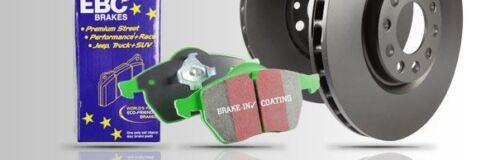 PD01KF1346 EBC Front Brake Kit Greenstuff Pads /& Standard Discs