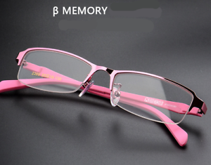 30ee7245fe71 Brand new Half-rimless Eyeglass frames Women TR90+metal Fashion RX ...