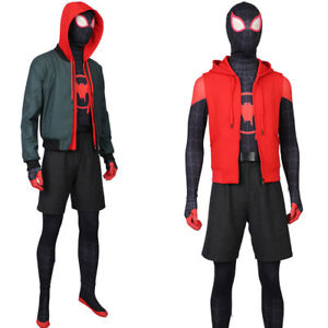 Into the Spider-verse Cosplay Miles Morales Costume