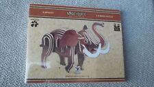 Noodle Your IQ 3d Wood Puzzle - Elephant