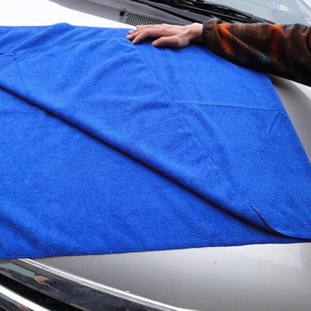 1pc 30*30 Microfiber Absorbent Cleaning Car Detailing Soft Cloths Wash Towel am