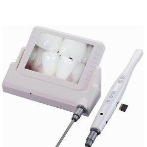 Dental-Digital-Intra-Oral-Camera-CMOS-6-LED-8-Inch-LCD-Display-PAL-NTSC-System
