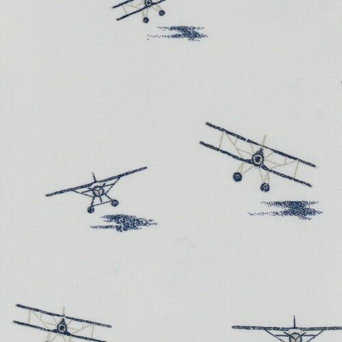 Eddie Bauer Sea Planes KING SIZE Sheet Set 100/% Cotton Percale