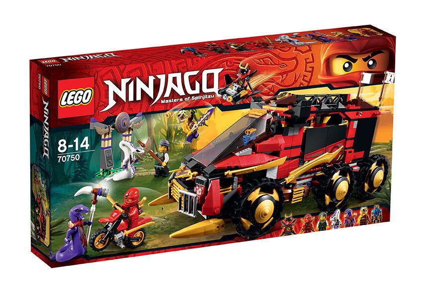 LEGO 70750 NINJAGO Mobile Ninja-Basis NEU und original VERSIEGELT