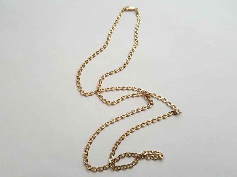 A328 9k Gold Anchor Link Chain
