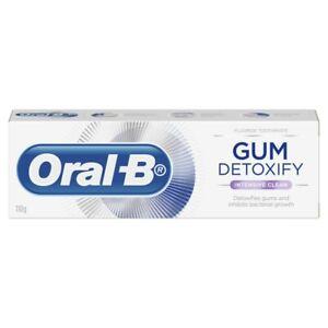 Oral-B Gum Detoxify Intensive Clean Toothpaste 110 gram