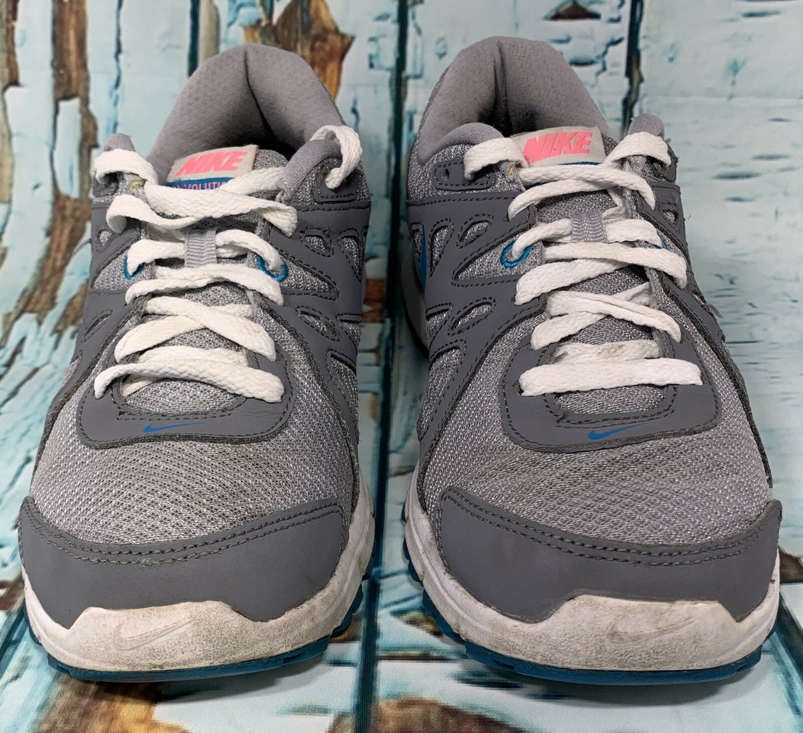 Nike rivoluzione 2 scarpe da corsa donne 8 grigio - blu w   keen solette 554902 | marche  | Scolaro/Signora Scarpa