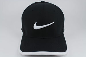 d76f07da6 Details about NIKE VAPOR CLASSIC 99 DRI-FIT ADJUST CAP HAT BLACK/WHITE  TRAINING SWOOSH NEW MEN