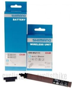 New SHIMANO WIRELESS UNIT DI2 SYSTEM EW-WU111 Bluetooth D-FLY ANT+