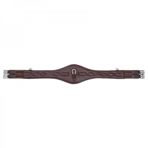Kavalkade Lang cinturón de cuero Soft Comfort elástico
