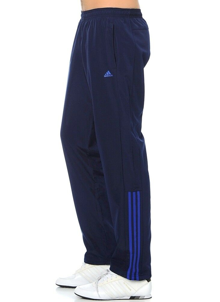 Adidas Base 3s Woven Pant Training  Pants Running Trousers Sport Leisure Trousers Mens bluee  discount low price