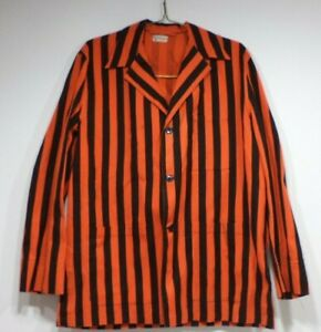 Vintage-Princeton-University-Reunion-Alumni-Jacket-Orange-Black-Stripes-1