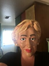 Hillary Clinton Mask Political Senator Fancy Dress Halloween Costume Accessory