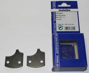 Metabo-Elektra-Beckum-Abweiser-BG-Nr-11-1-Paar-0914030161-Restposten