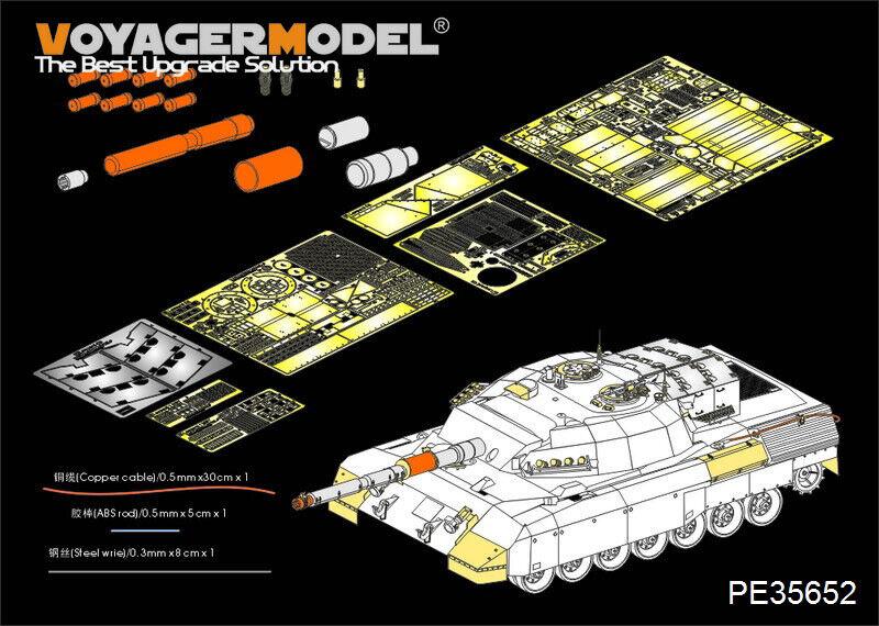 VOYAGER 1 35 35652 Modern Canadian Leopard C2 MEXAS MBT (For TAKOM 2003)