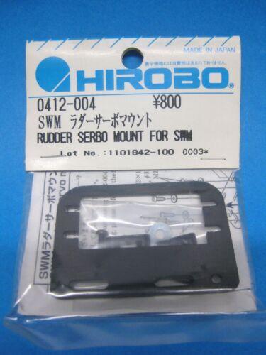 Original HIROBO Heckservo Halter 0412-004 SHUTTLE SXX Rudder servo mount set