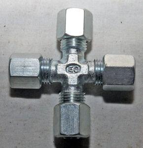 Schneidringver<wbr/>schraubung Kreuzstück Kreuzverschrau<wbr/>bung Ermeto 6 mm