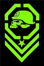 Metal Mulisha GREEN Decal Sticker Moto-X Dirt Bike Motocross Off Road ATV Army