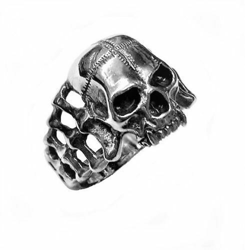 ring SKULL GOTHIC STYLE #824 sterling silver 925