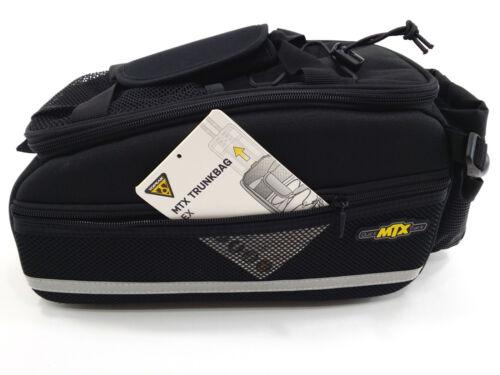TOPEAK MTX EX TRUNK BAG TRUNCK REAR RACK BAG W// QUICK TRACK TT9631B