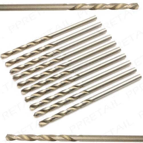 2.5mm HSS TWIST DRILL BITS x 10 PRECISION Micro//Small//Tiny//Mini//Hobby//Craft