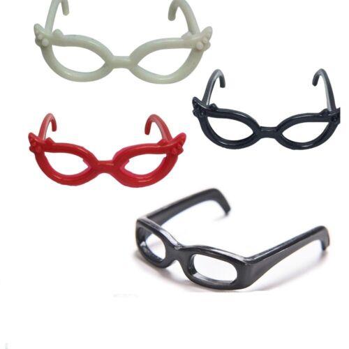 "4pcs Doll Glasses Set For 11.5/"" Dolls 1//6 Fashion Vintage Clothing Accessories"