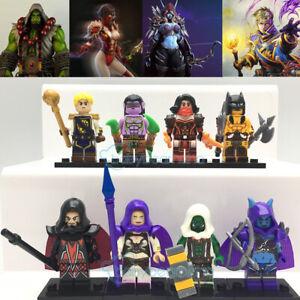 Warcraft Dota Minifigures Brick Toy Figurine Lego Compatible Thrall Illidan