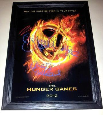 Jennifer Lawrence Hunger Games Katniss Everdeen Signed Autograph A4 Poster Print