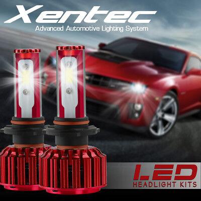 Xentec 8000LM Car LED Headlight Kit H11 H8 H9 6500K Bulbs Lamps Low Beam Pair