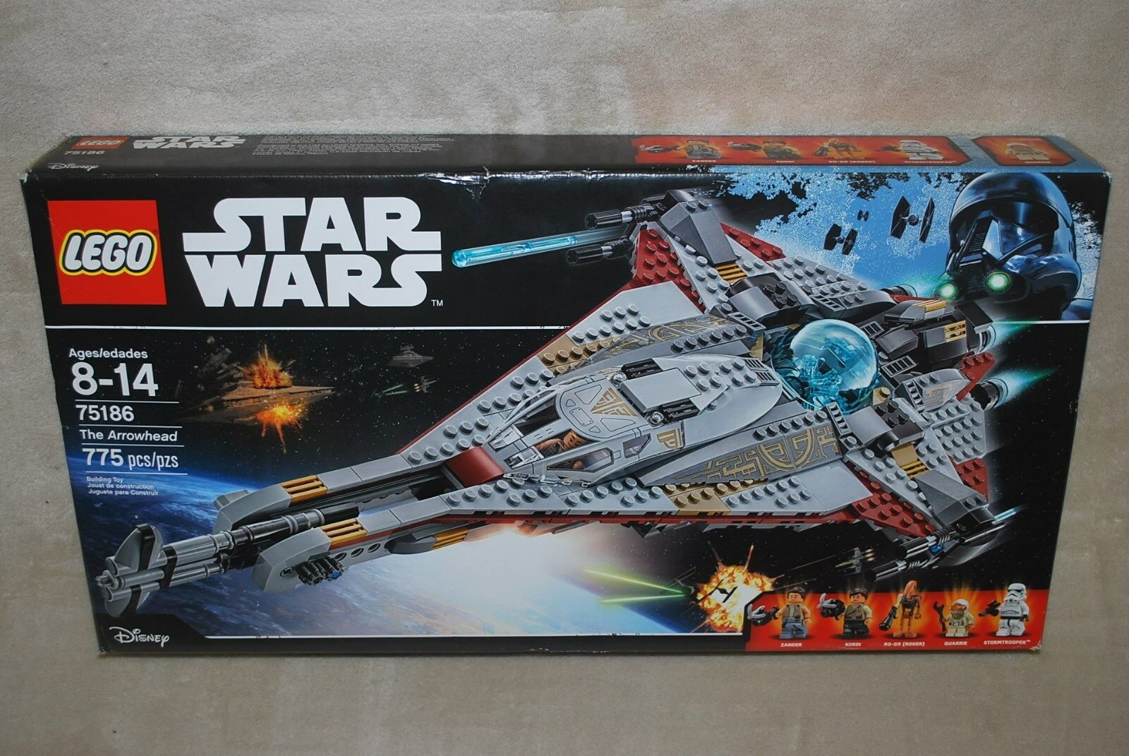 LEGO New 75186 Star Wars The Arrowhead Factory Sealed Box NISB