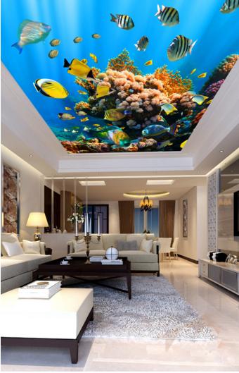 3D Koralle Ozean 5 Fototapeten Wandbild Fototapete BildTapete Familie DE