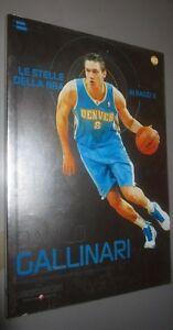 BOOK-BOOK-N-40-DANILO-GALLINARI-THE-STARS-OF-NBA-AI-RAYS-X-DENVER-NUGGETS