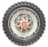 Sx500 Rear Wheel W/ Red Hub Complete