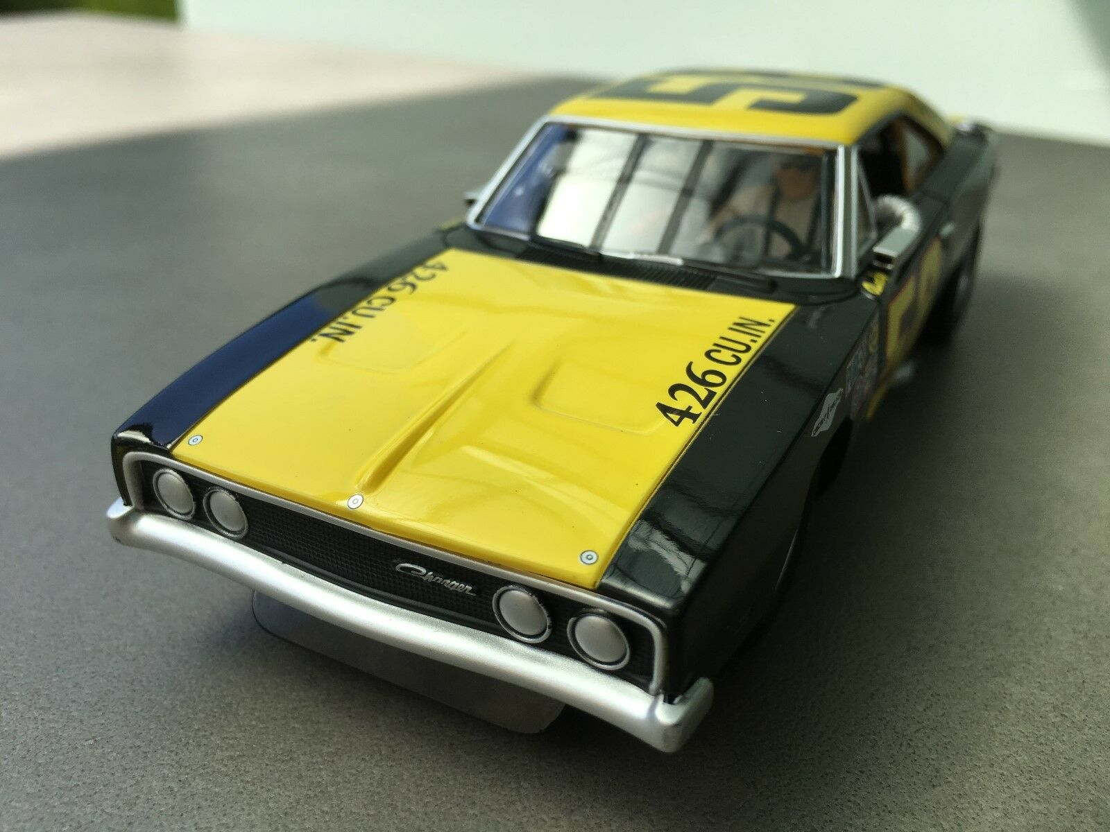 Carrera Digital 132 30686 Dodge Charger 500   No. 58,1969 Karosse + Chassis