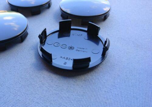 4x tapacubos embellecedores llantas tapa viga 60,0 mm 57,0 mm negro u1mf s