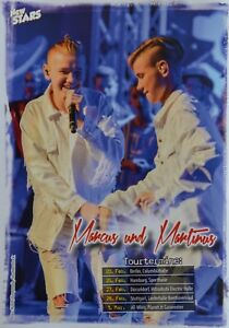 MARCUS-amp-MARTINUS-Star-Card-Foto-Karte-Mini-Poster-Clippings-Fan-Sammlung
