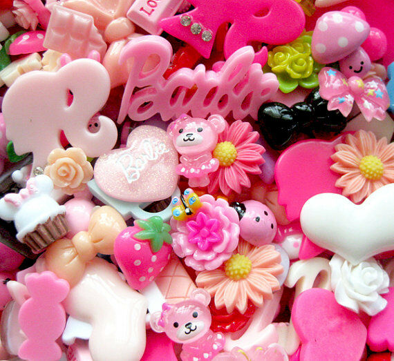 50pcs Lots Mix Assort Easter DIY Flatbacks Resin Buttons Scrapbooking Craft B103
